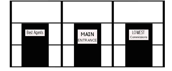main-entrance. real estate jokes. Call Sharon at 918-214-1400 or email sharonleach@kw.com